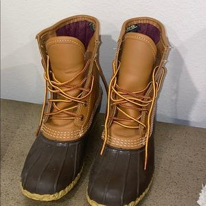 LL Bean Boots insulated